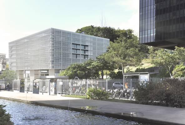 Metro Arquitetos apresenta projeto para concurso de anexo do prédio do BNDES