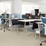 Herman Miller Public Office Landscape com cadeiras Mirra 2