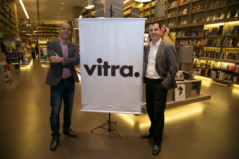 Preview da Vitra na Saraiva do Village Mall