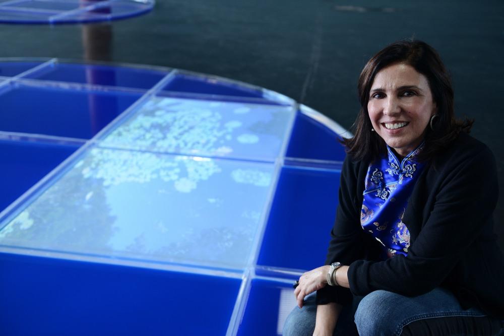 """Abertura da exposição """"Jardins Submersos: um espaço líquido"""", no Palácio Capanema"""