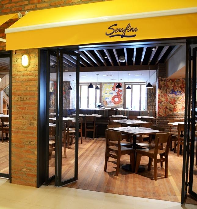 Triplex Arquitetura assina projeto do restaurante Serafina
