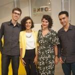 Bruno Pergher, Juliana Lisboa, Priscila Curce e Bruno Cardoso dos Santos