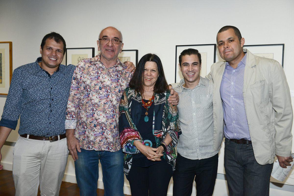 Abertura da exposição de Darcílio Lima
