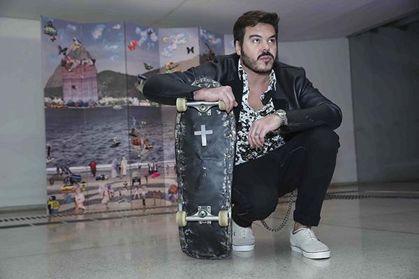 """Alê Jordão apresenta a mostra """"Spectrum"""" no Museu Oscar Niemeyer (MON) de Curitiba"""