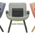 East River Chair assinada por Hella Jongerius com  64X71X74cm na Novo Ambiente