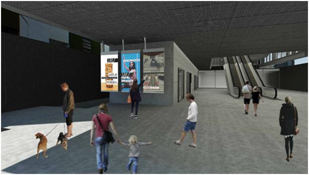 Foi definido o projeto de sinalização para o novo museu do IMS em São Paulo