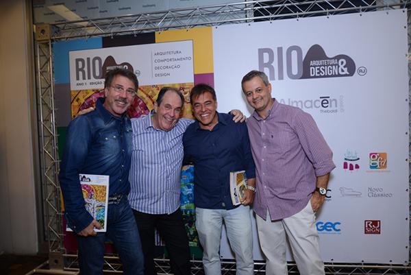 Lançamento da 3 edição da revista Rio Arquitetura & Design