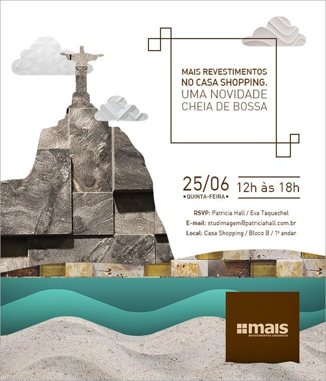 Lançamento da primeira loja da Mais Revestimentos no Rio