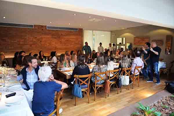 Lacca oferece almoço para arquitetos no DUO