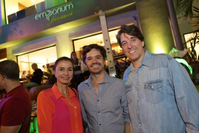 Evento de lançamento na loja Frei Caneca, em Ipanema