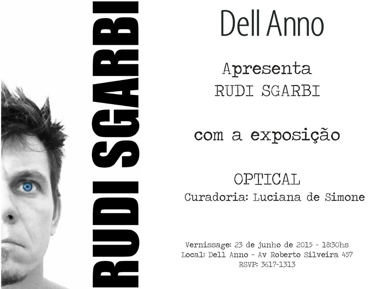 Dell Anno Niterói  apresenta exposição OPTICAL de Rudi Sgarbi