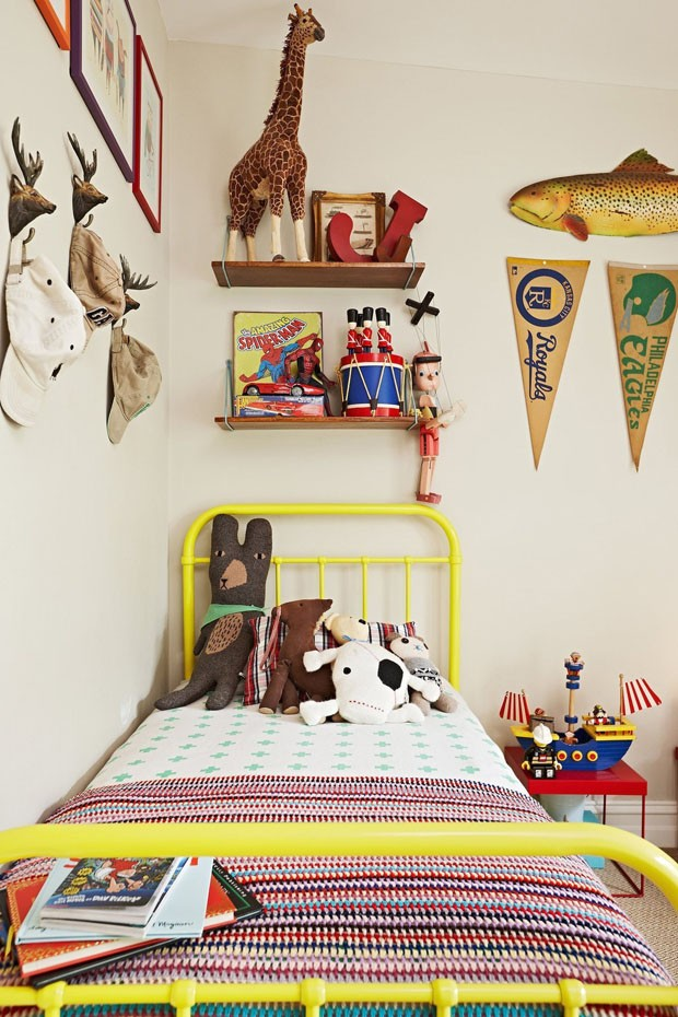 Décor do dia: quarto infantil e alegre