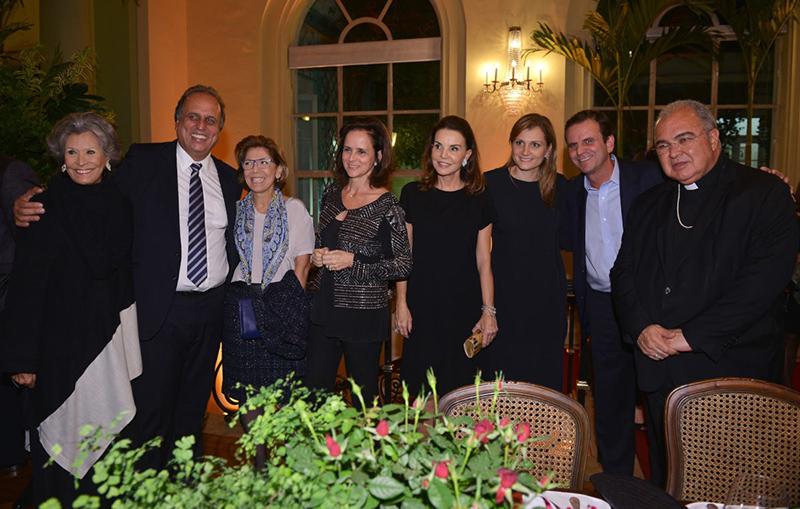 Jantar beneficente em comemoração aos 25 anos de Casa Cor Rio