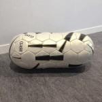 Bola de futebol costurada l Felipe Barbosa