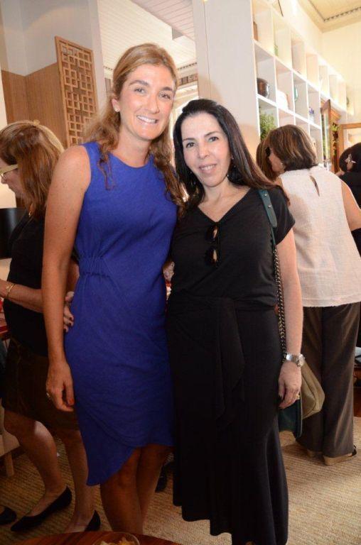 Mariana Linhares reuniu convidados em almoço na Casa Cor Rio