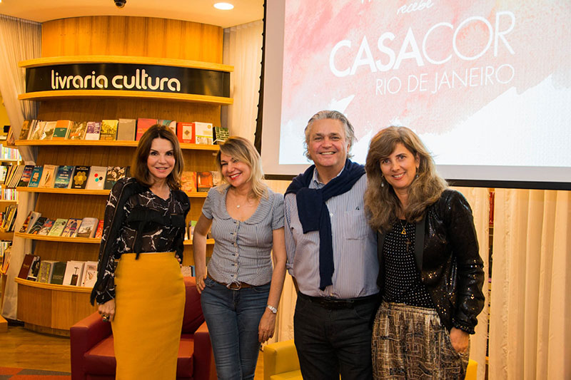 A Livraria Cultura promoveu ontem o Bate Papo Casa Cor