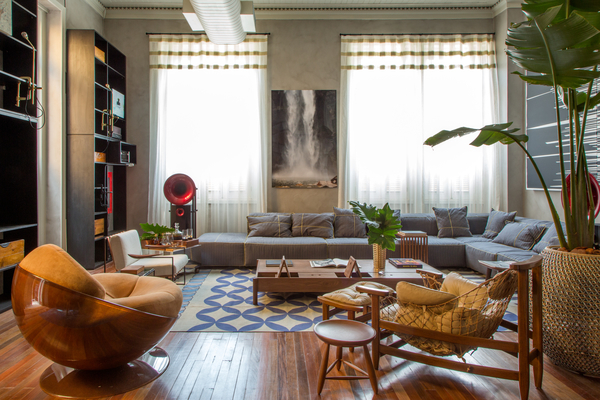Casa Cor Rio – A Garçonnière de André Piva e Vanessa Borges