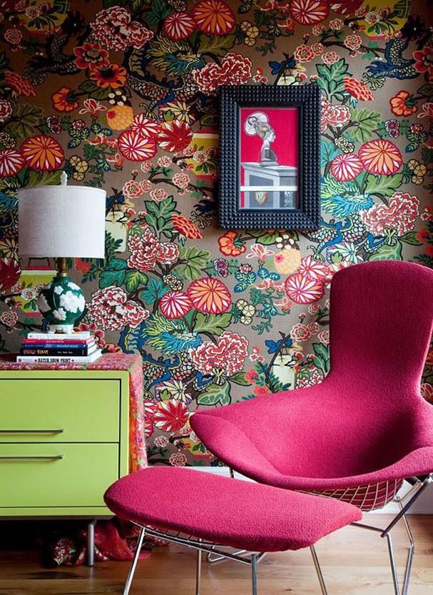 Décor do dia: cores na parede e nos móveis