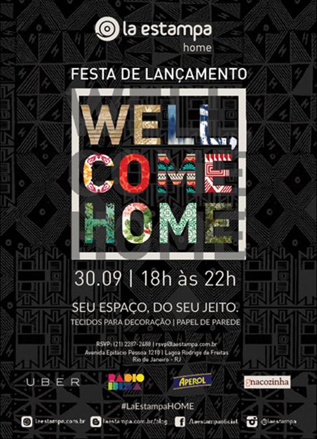 """Festa de lançamento da coleção """"Home"""" da La Estampa"""