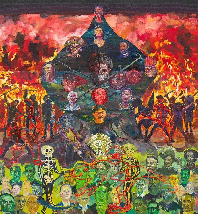 """Abertura da mostra """"Singularidades/Anotações: Rumos Artes Visuais"""" no Itaú Cultural"""