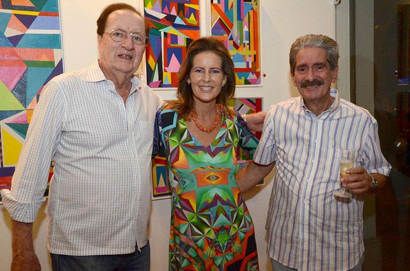 """Inauguração da exposição """"Tríade"""" de Tatiana Mendonça"""