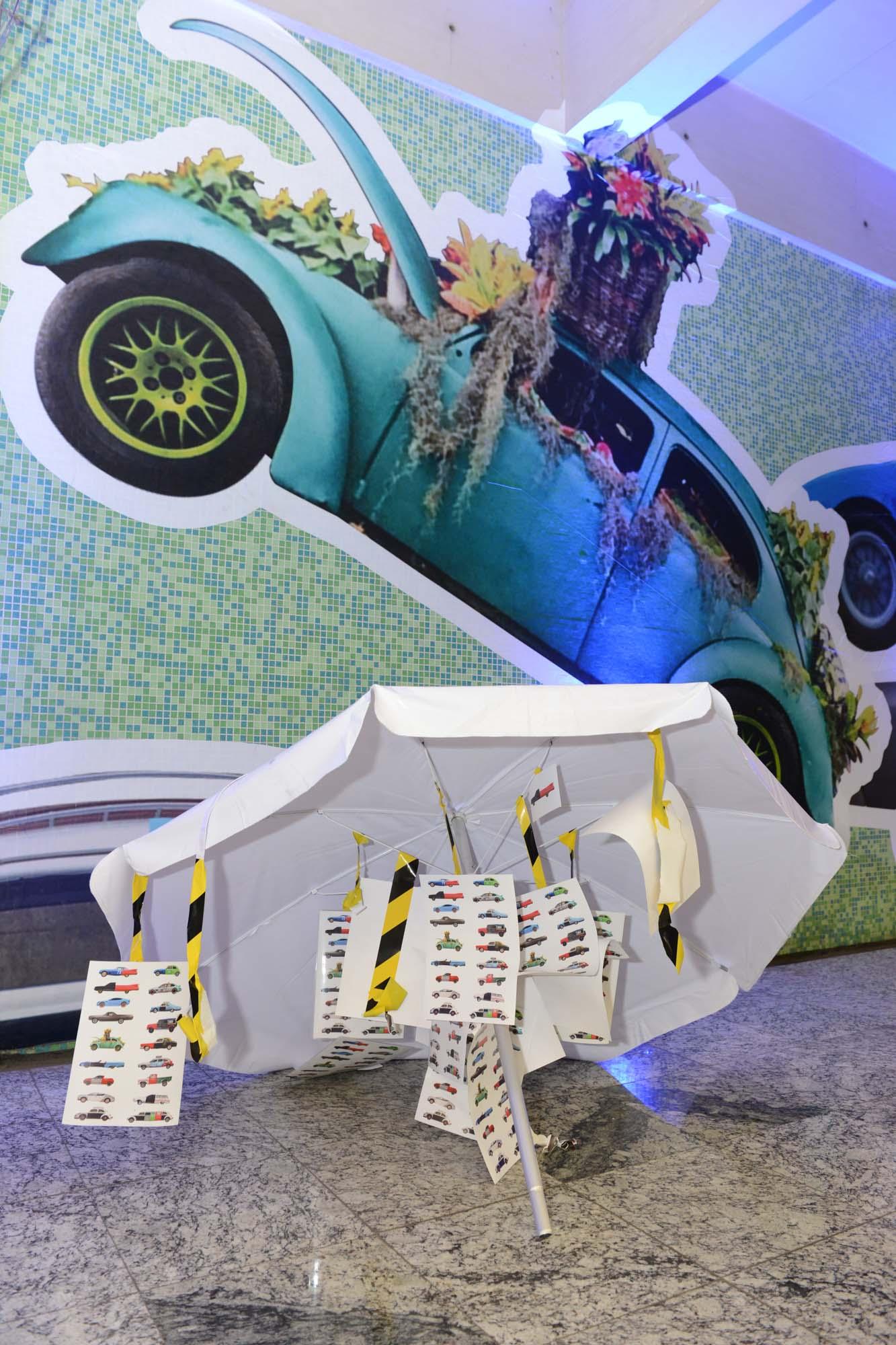 """Alê Jordão apresenta instalação no """"Metro Urban Art Gallery"""""""