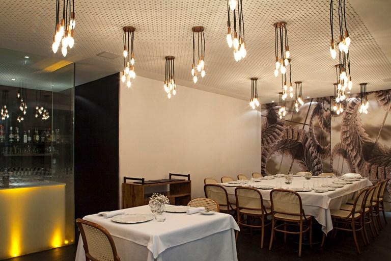 Decoração do restaurante Eleven Rio