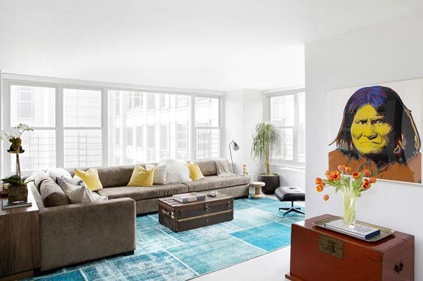 Empresária carioca mostra seu lar em NY