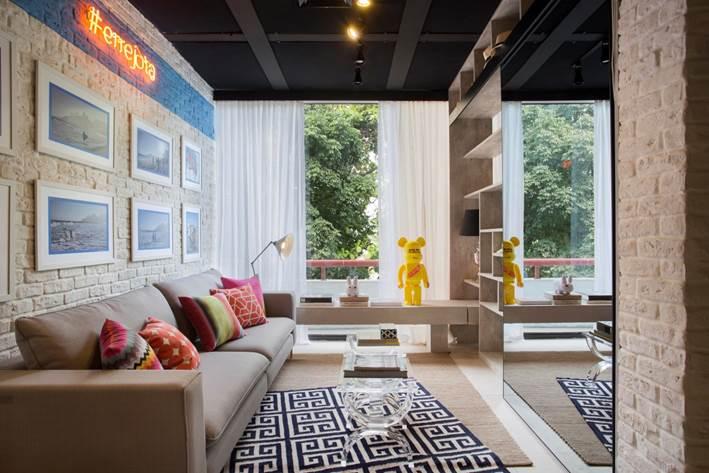 Detalhes do Apartamento Carioca na 12ª edição da mostra Morar Mais por Menos