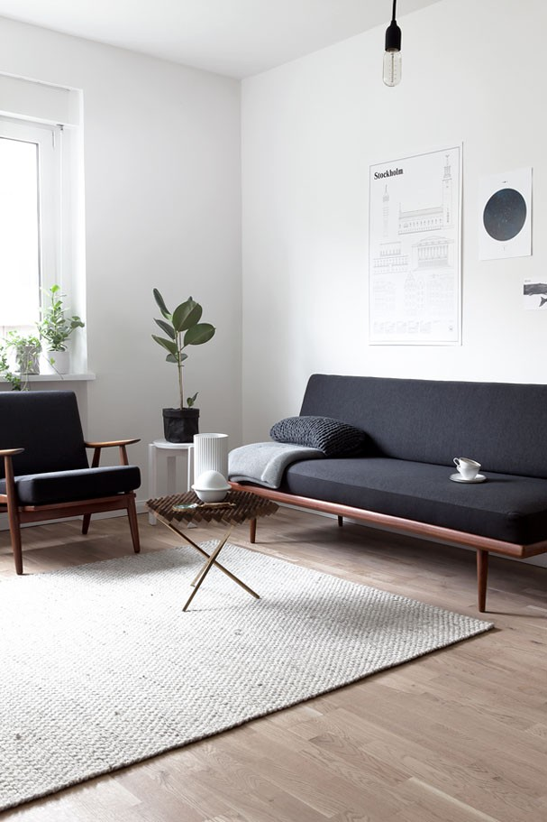 Décor do dia: sala minimalista