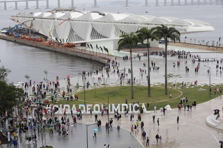Santander fará compensação das emissões de carbono do Museu do Amanhã