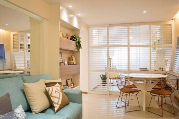 Reforma de apartamento de 105m² assinado pela arquiteta Mari Coelho