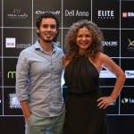 Henrique Ramalho e a presidente do CADN Rosangela Mattos na festa do CADN - FOTO 2284