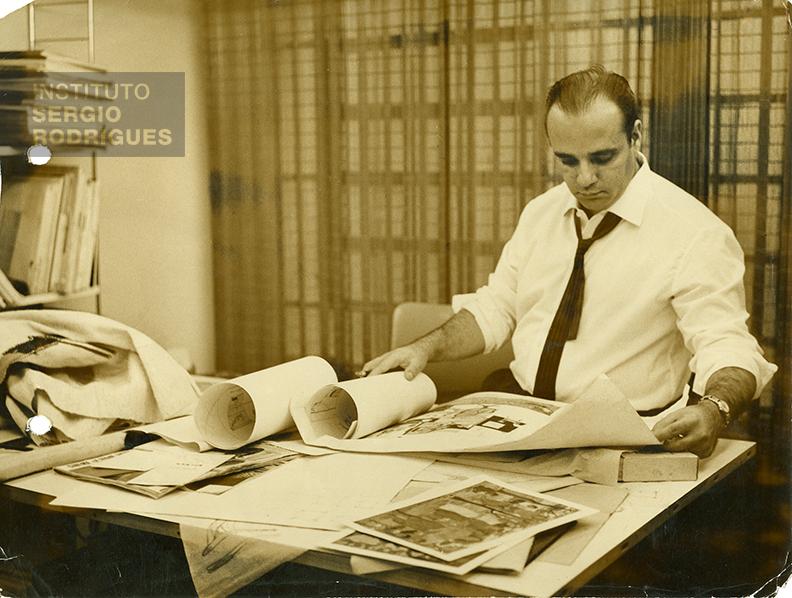 """Palestra """"Sergio Rodrigues, seis décadas de design"""""""