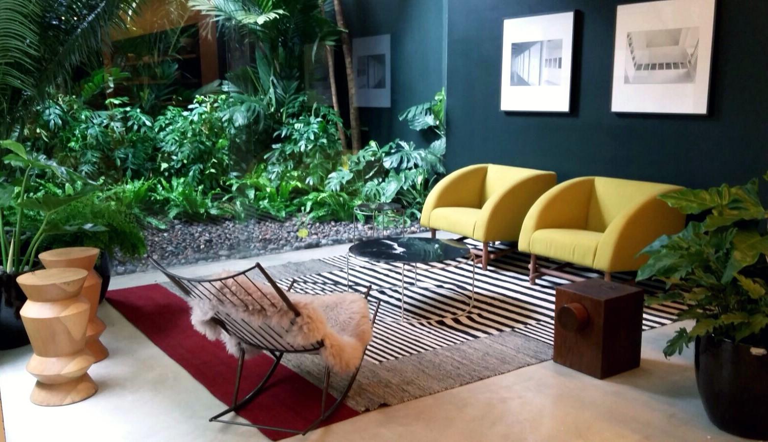 Ambiente no Casa Vogue Experience
