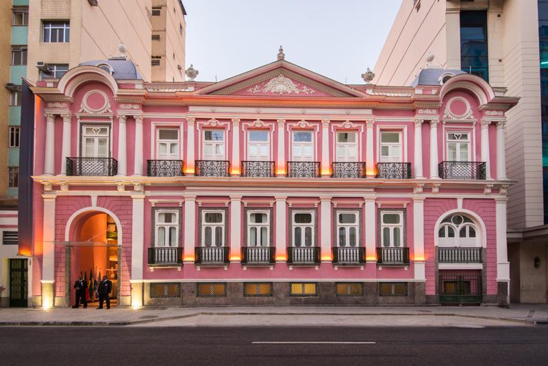 Hotel histórico no Rio de Janeiro