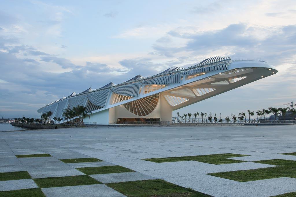 Museu do Amanhã é o primeiro projeto no Brasil do arquiteto espanhol Santiago Calatrava