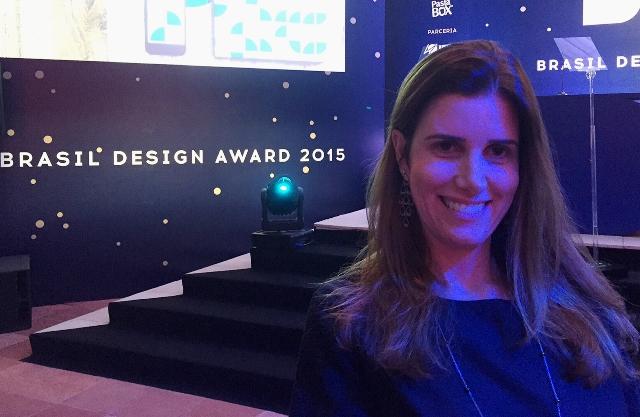 Carioca ganha prêmio de design