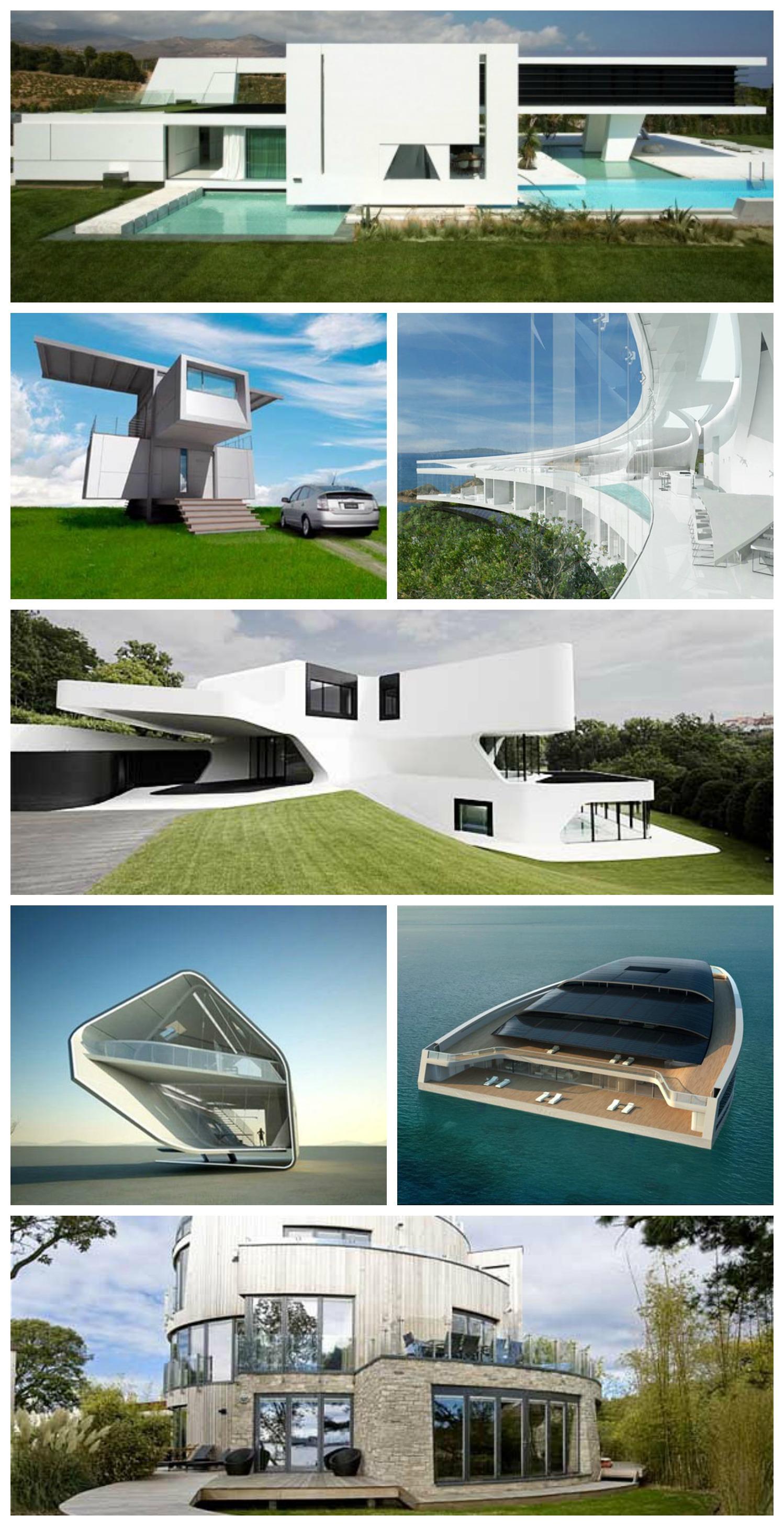As casas no futuro