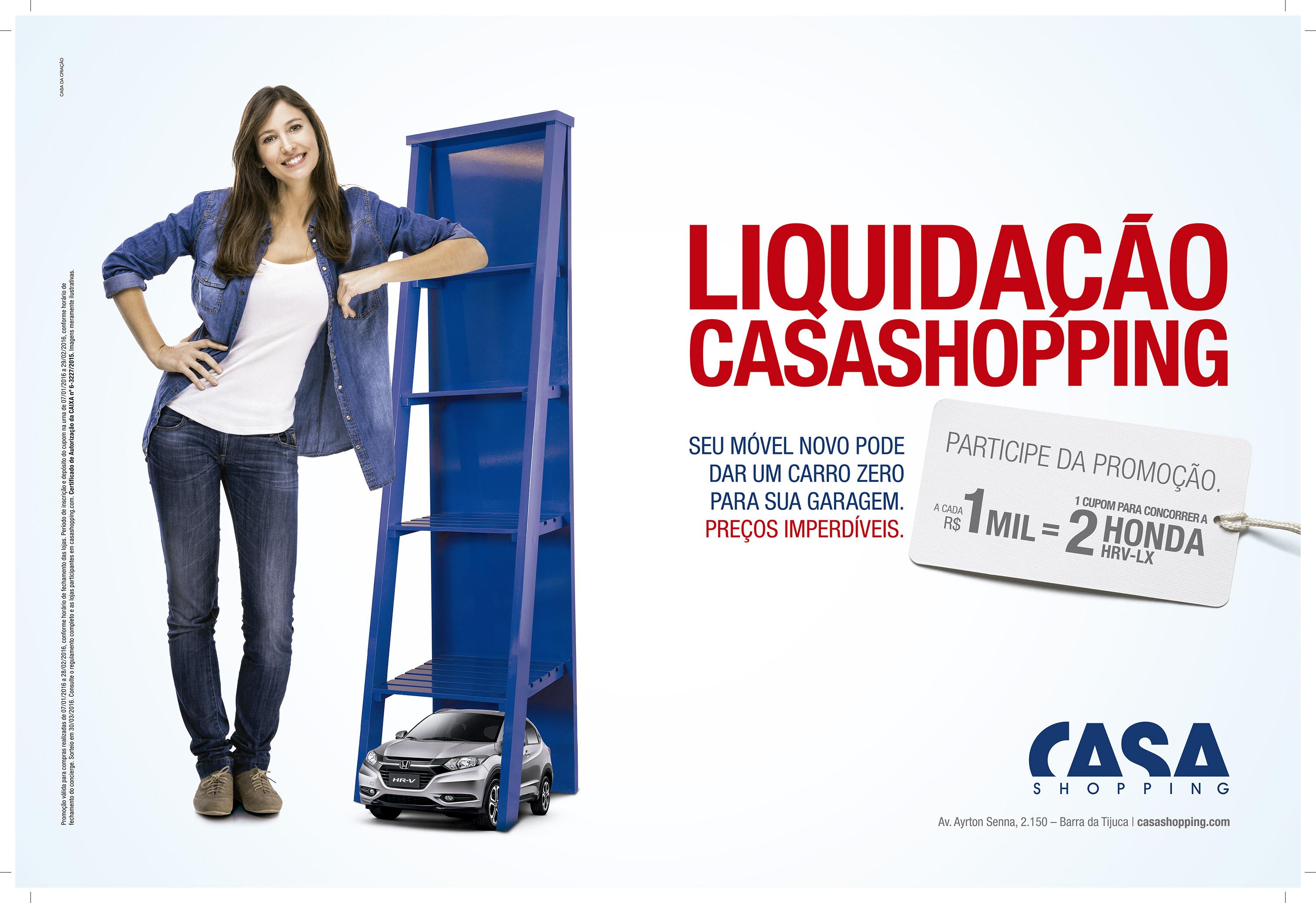 Liquidação no CasaShopping