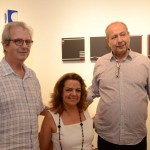 Paulo Sergio Duarte, Roma Drumond e Fernando Cocchiarale