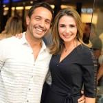 Alexandre Cardim e Daia Falcao