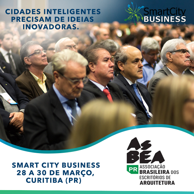 "AsBEA-PR leva o fórum ""BIM e o Futuro das Cidades"" ao Smart City Business America"
