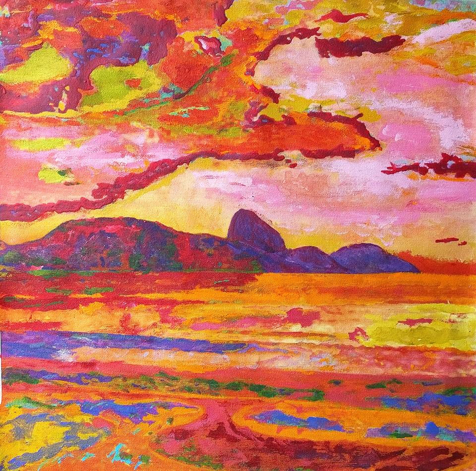 Exposição de artes em casa no Itanhangá