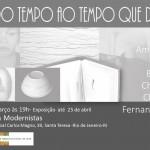 convite Galeria Modernista