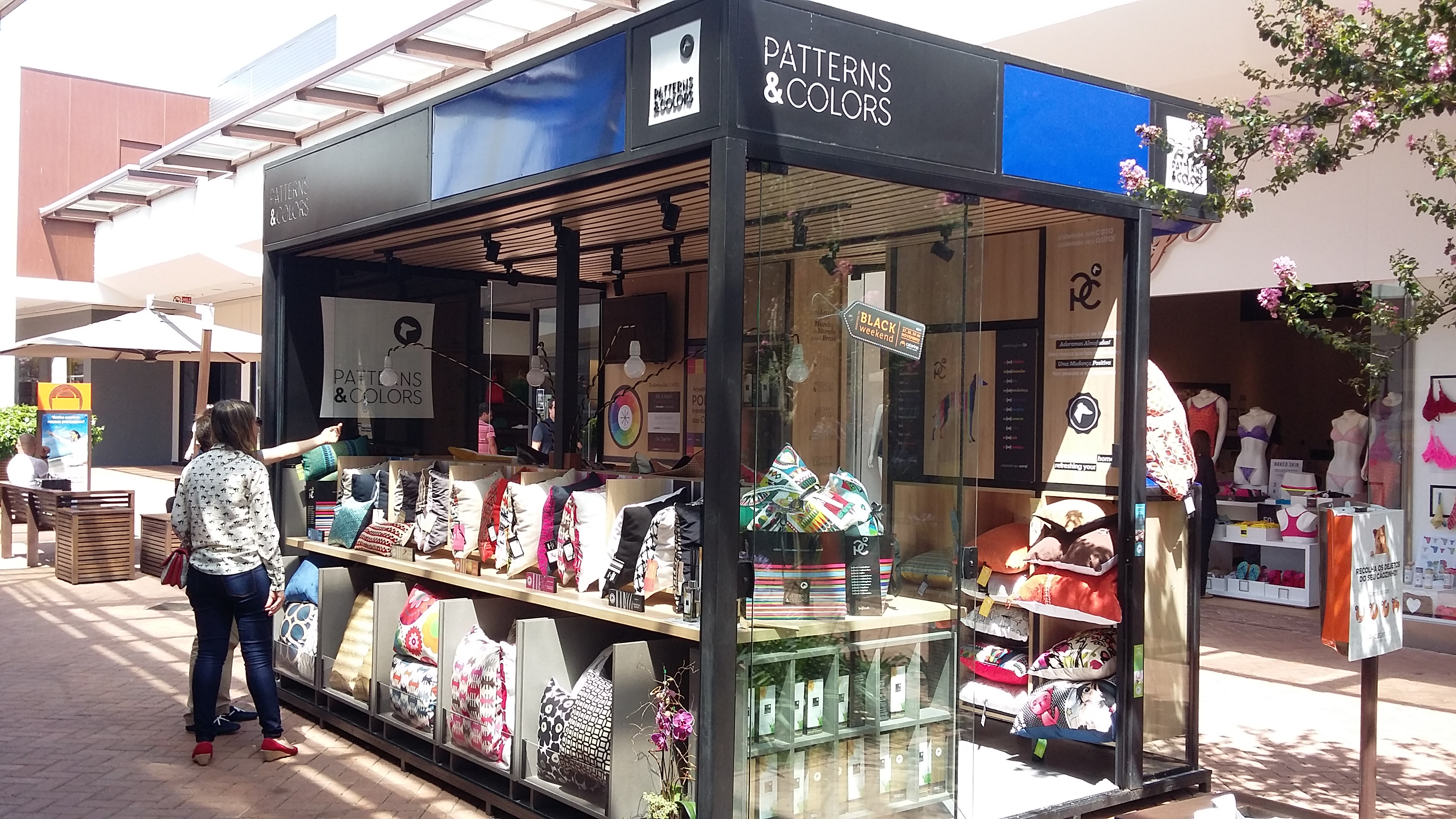 Patterns & Colors inaugura novo quiosque no Rio