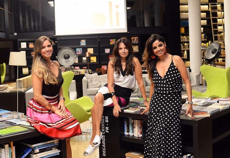 OliOli recebe convidados no Rio de Janeiro