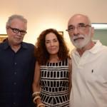 Carlos Fragoso, Elisa Byngton e Afonso Costa
