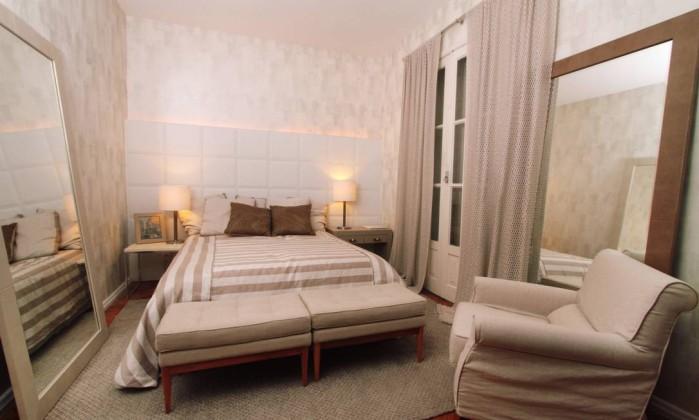 Gorete Colaço transforma quarto em cinco ambientes diferentes