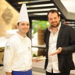 Chef Gustavo Ruffato e Mateus Corradi